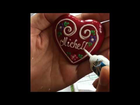 Croatian Licitar Hearts & Handcrafts
