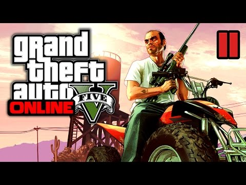 GTA 5 Online | Chase the Beast and Hackers (PC) #11