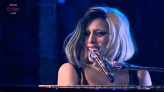 Lady Gaga - The Edge of Glory (Live at BBC Radio 1