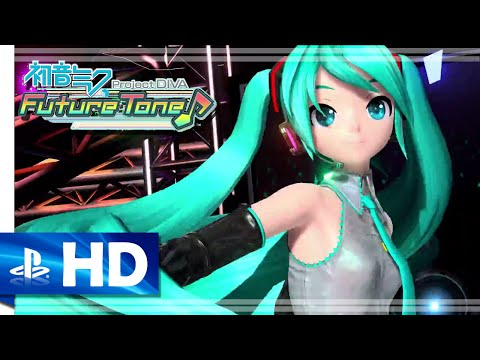 Hatsune Miku: Project Diva Future Tone - Official Trailer (PS4) [1080p/60fps]
