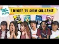TSL Plays: 1 Minute TV Show Challenge