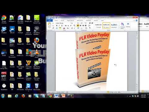 Rebranding PLR Products tutorial