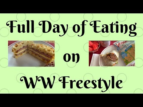 Full Day Of Eating On WW Freestyle! 5.8.19
