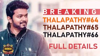 BREAKING: Vijay's NEXT Action Plan for his 3 films | Big Surprises
