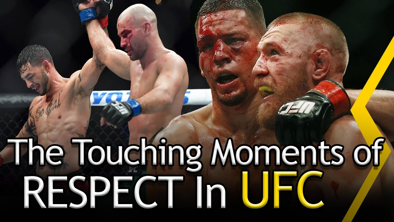 The MOST Respectful Moments In UFC/MMA [EMOTIONAL]