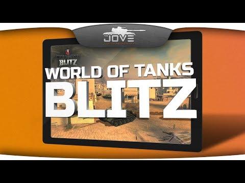 World Of Tanks Blitz. Первый взгляд на танки для планшетов.