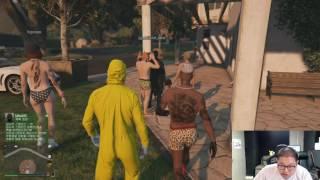 감스트 : 대규모 좀비 + 금수저 동네 + 조선소 GTA5 #42 (PC GAME l Grand Theft Auto V)