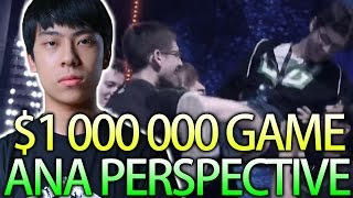 ANA Perspective 1 Million $ Game Incredible Comeback OG Dota 2