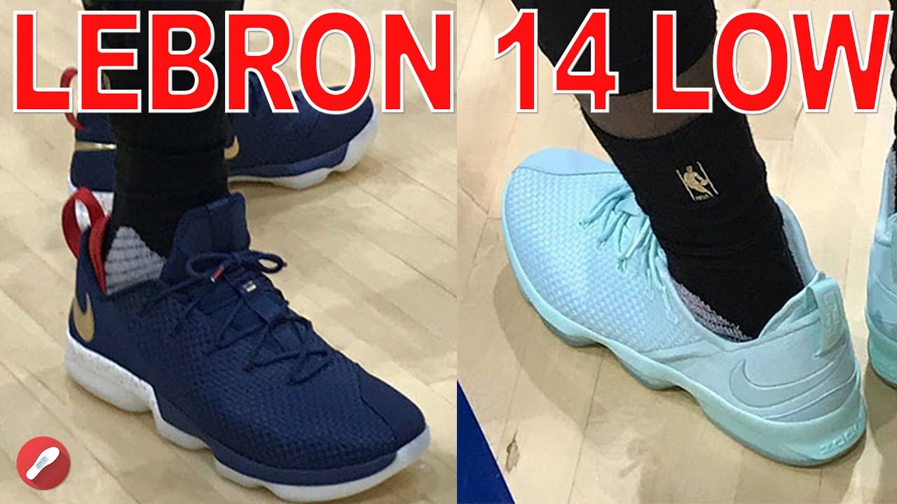 Nike Lebron 14 Low Initial Thoughts!