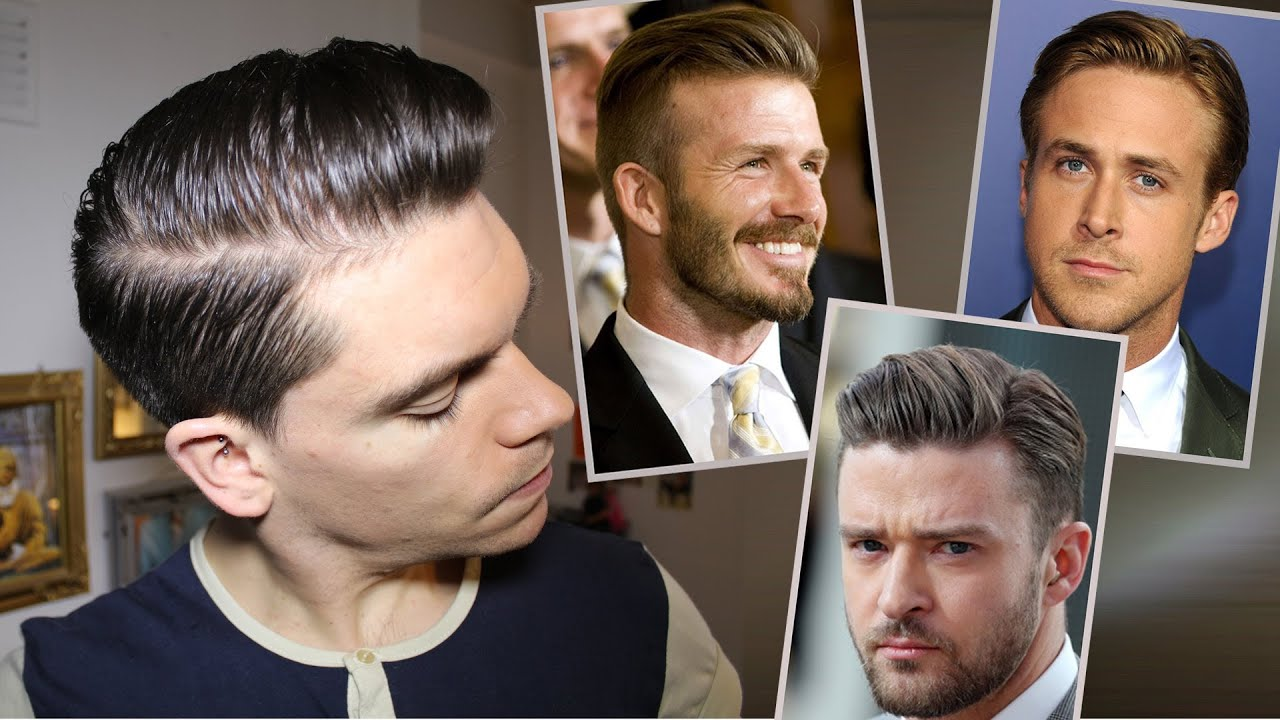 Mens Hair Trend Slicked Back YouTube