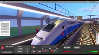 ROBLOX: Terminal railways! #1 Speeding too fast!