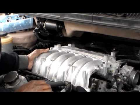 How to remove rear spark plugs 2005 Kia sedona part 2 ...