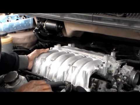 How To Remove Rear Spark Plugs Kia Sedona Part 2