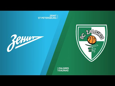 Zenit St Petersburg - Zalgiris Kaunas Highlights   Turkish Airlines EuroLeague, RS Round 20