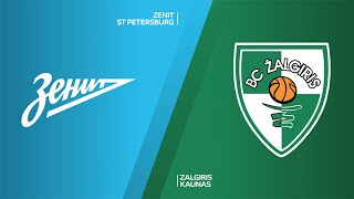Zenit St Petersburg - Zalgiris Kaunas Highlights | Turkish Airlines EuroLeague, RS Round 20