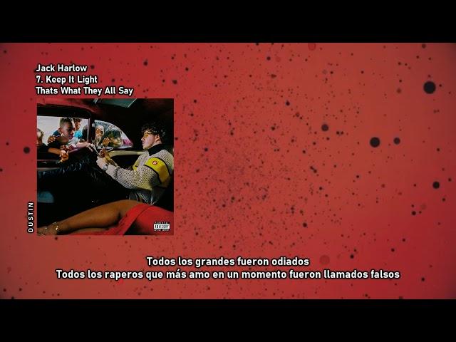 Jack Harlow ⥈ Keep It Light «Subtitulado Español»
