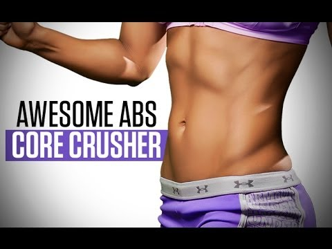awesome abs at home workout for women  no equipment