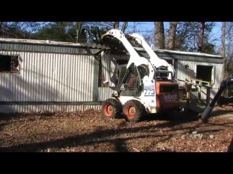 Grant Helping Rockingham County To Remove Abandoned Mobile Homes