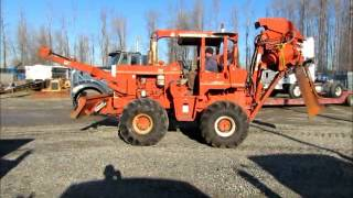 Sold! Ditch Witch R-100P Vibratory Hydraulic Cable Plow Dozer bidadoo.com