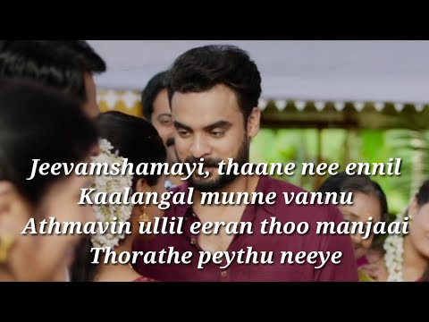 Jeevamshamayi Song Lyrics|Theevandi|Lyrics Video