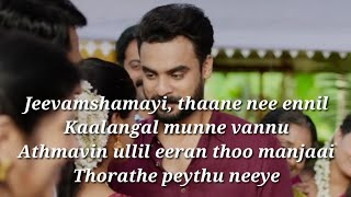 Jeevamshamayi Song Lyrics|Theevandi|Lyrics
