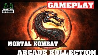 Steam Play (Proton) - Mortal Kombat Arcade kollection