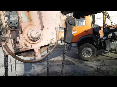 Замена грузового троса,обслуживание