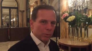 Três perguntas para o prefeito eleito de São Paulo, João Doria Júnior