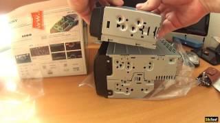 Обзор автомагнитолы Sony WX-800UI. Распаковка, настройка
