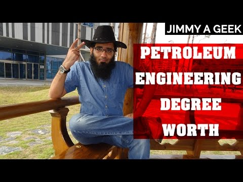 Question - Is Petroleum Engineering Degree Worth ?