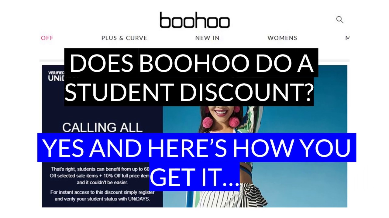 2936d9b2553 Boohoo Student Discount | Up to 70% Off (June 2019)