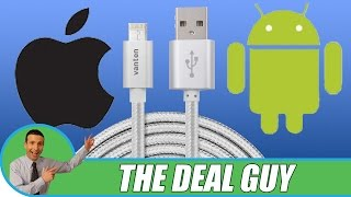 📱 USB Charge Cable Phone Review ◄ Universal for iPhone & Android!!