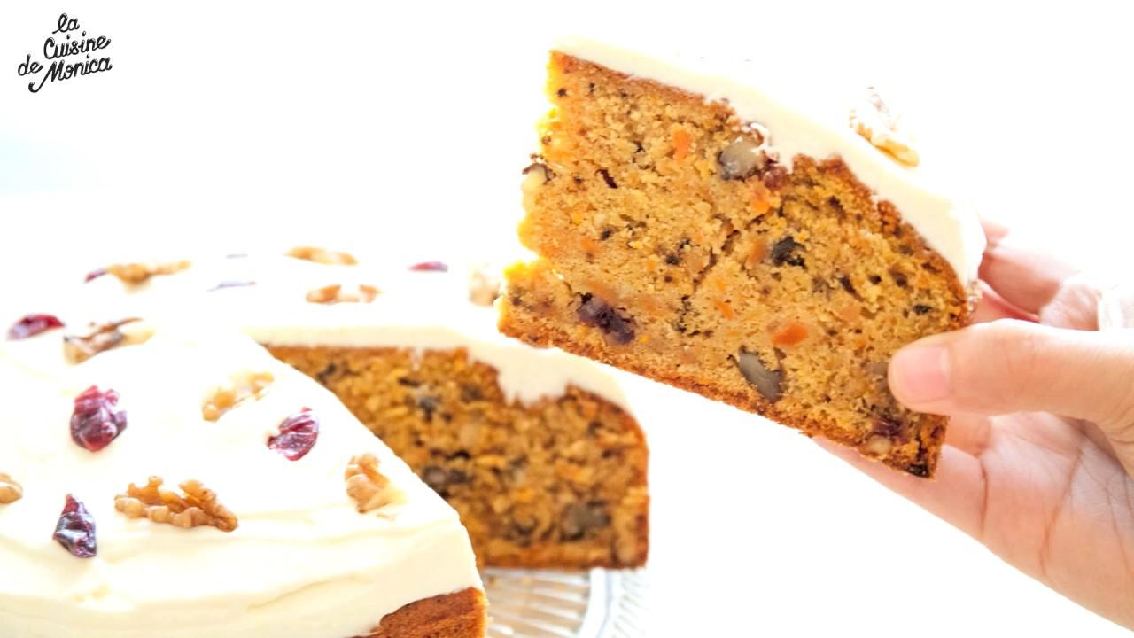 Carrot cake la cuisine de monica youtube for La cuisine de monica