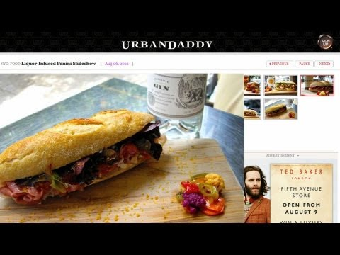 NYC Restaurant Creates Buzz with Liquor-Infused Sandwiches