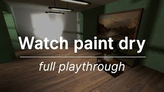 Watch Paint Dry - playthrough (source mod)