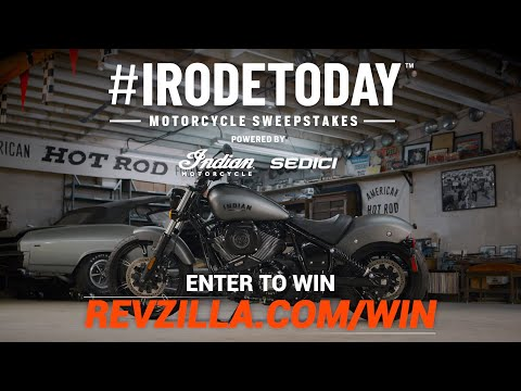 #IRODETODAY Sweepstakes: Win A 2022 Indian Chief!