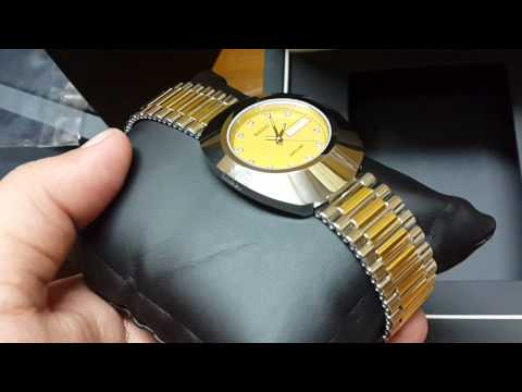 ebb397edb Rado Diastar Original Watch Unboxing - YouTube