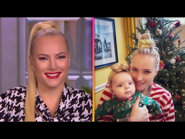 The View\'s Meghan McCain Shares First Photos of Daughter as She Returns to Work