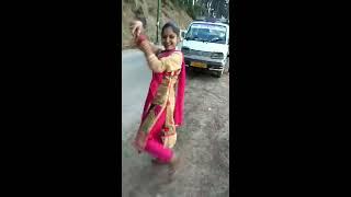 Indian deshi dancing song. With famli.