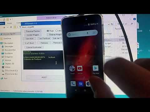 Repeat COMO HACER ROOT UN LG K20 Plus MP260 Metro PCS & T