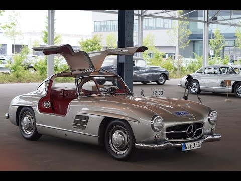 Mercedes-Benz 300SL meeting in Hamburg!