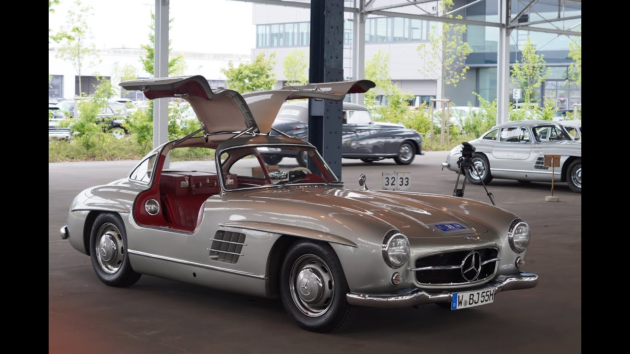 mercedes benz 300sl meeting in hamburg youtube. Black Bedroom Furniture Sets. Home Design Ideas