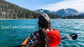 Spring California Camping aт the June Lake Loop