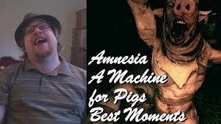Amnesia: A Machine for Pigs - Best Moments [Funny][Scary]