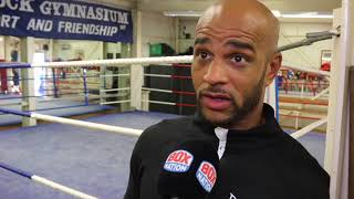 TIME HAS CAUGHT UP WITH ME - LEON McKENZIE RETIRES FROM PROFESSIONAL BOXING - REFLECTS ON HIS CAREER