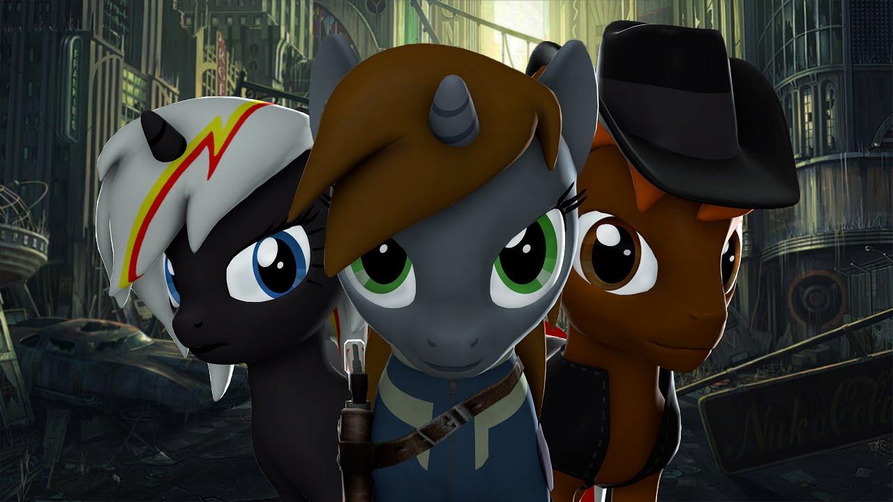 Pmv Fallout Equestria Littlepip Outside Youtube