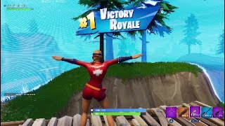 Victory royal with the new sun strider skin (Fortnite Battle royal )