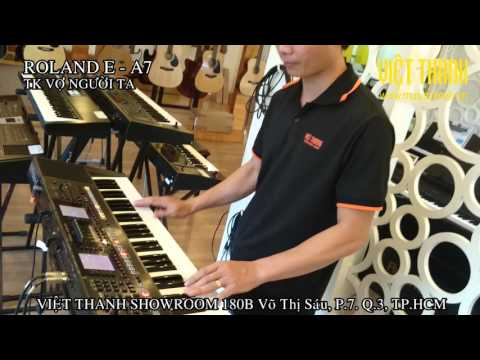 Repeat Demo Style cha cha band roland EA7 by Lê Hào - You2Repeat
