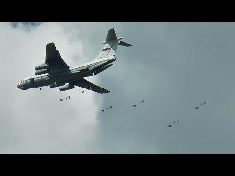 Учения десантников в Житове. РВ ТВ