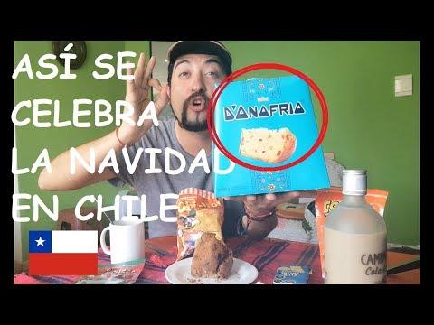 ASI SE CELEBRA LA NAVIDAD EN CHILE - PANETON Y PAN DE PASCUA